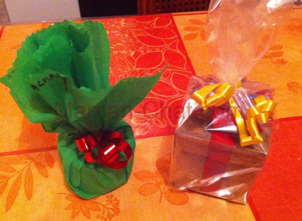 Cadeaux de l'école