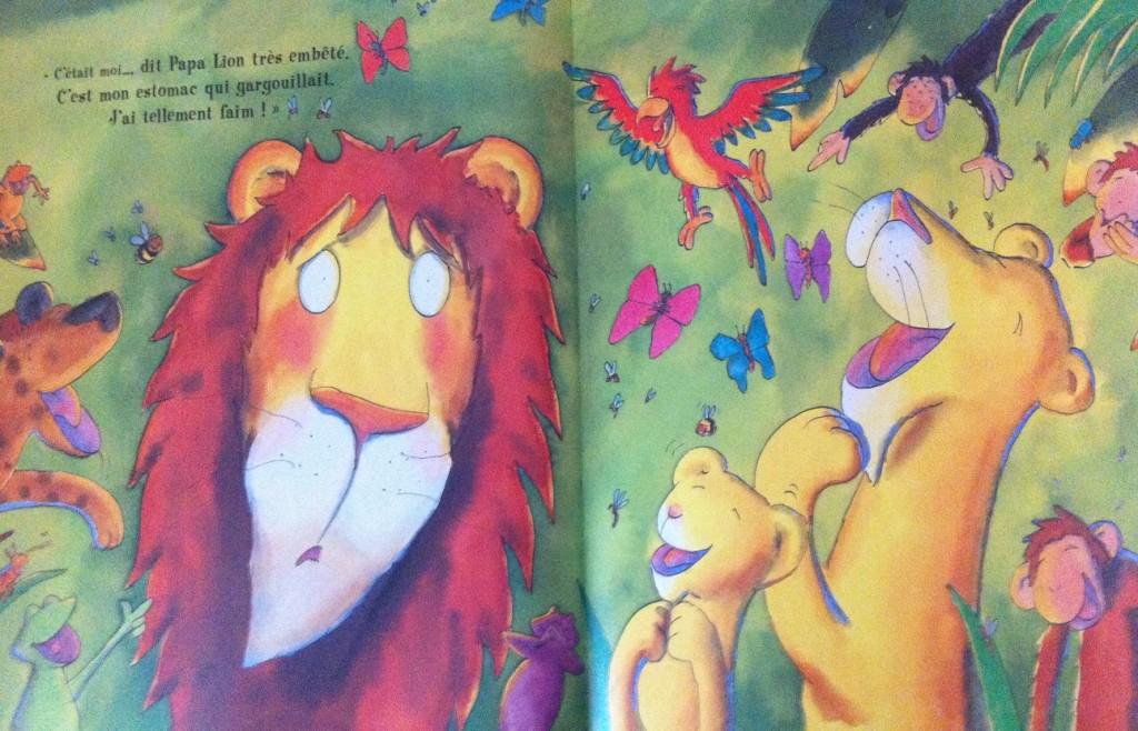 Histoire lion