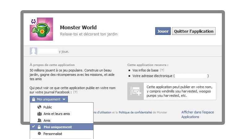 Tuto notifications jeux facebook