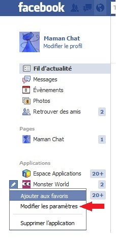 Tuto notifications jeux fb 2