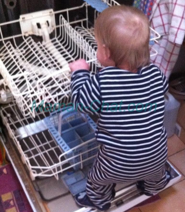 Tichat lave vaisselle