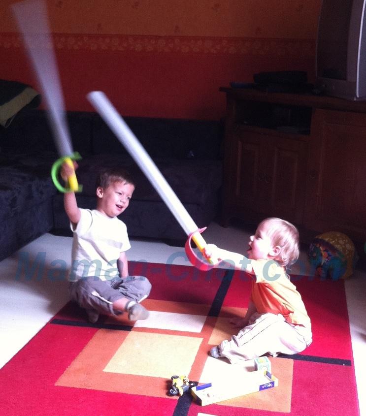 Tichat et Tidoux épée