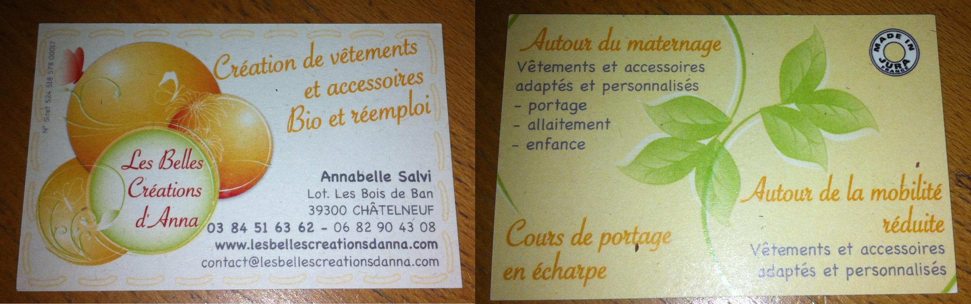 Carte De Visite Anna