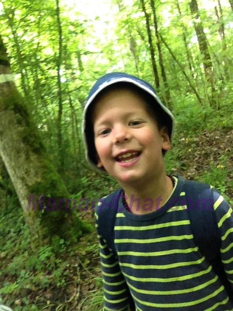 Tidoux dans les bois