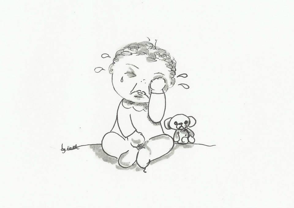by erika bébé qui pleure