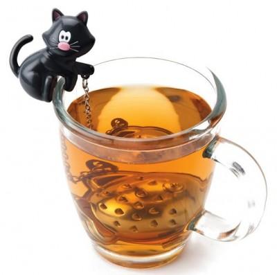 Boule a thé chat