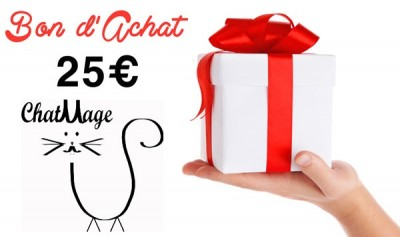 bon achat 25 euros ChatMage